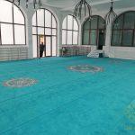 Afyonkarahisar Merkez Yeşil Cami Akrilik Göbekli Cami Halısı Satış ve Döşemesi