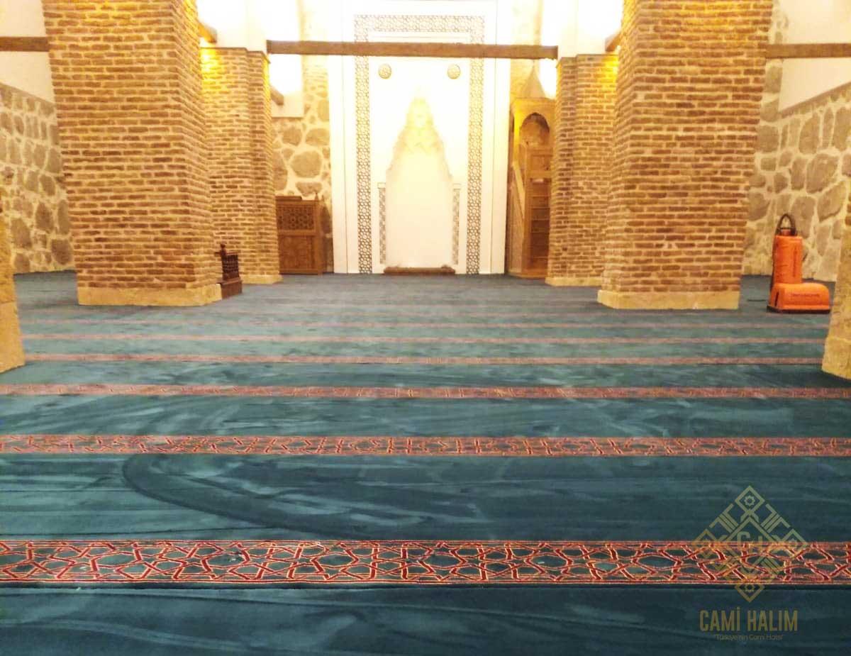 Amasya Merkez Gökmedrese Cami Yün Saflı Cami Halısı Satış ve Döşeme İşi