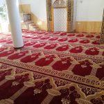 Artvin Borçka Çakmakçılar Ertürk Cami Seccadeli Cami Halısı Satış ve Döşeme İşi