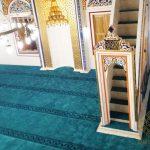 Bosna Hersek Foca Cami Akrilik Saflı Cami Halısı Satış ve Döşeme İşi