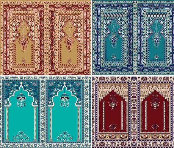 Seccadeli Cami Halısı Modelleri Yün ve Akrilik 1